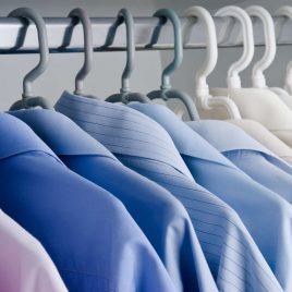 Camisa social Lavanderia Clean Express