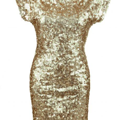 Vestido Curto com Pedraria Lavanderia